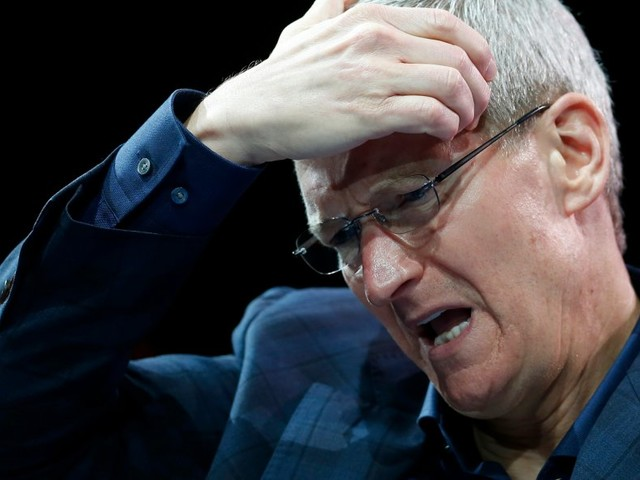 Apple is slipping after reports of iPhone 8 production cuts (AAPL)