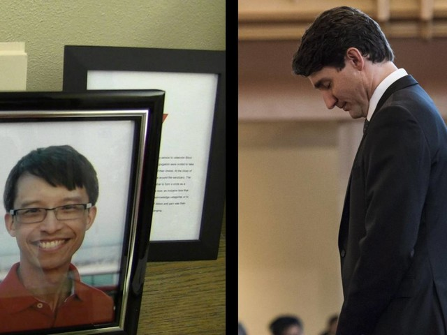 Justin Trudeau remembers Arnold Chan at Liberal MP's funeral