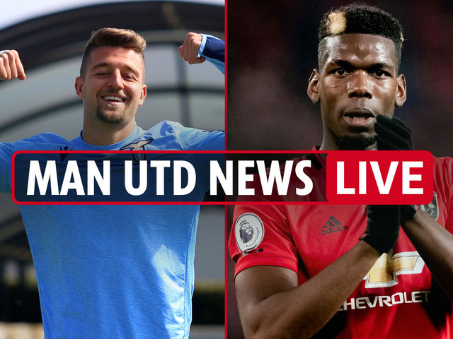 7pm Man Utd news LIVE: Milinkovic-Savic in talks to replace Pogba, Sancho 'transfer agreed', Solskjaer blasts Hancock
