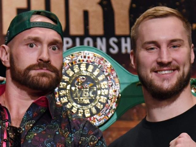 Fury vs Wallin undercard: Who is fighting on bill of heavyweight bout in Las Vegas?