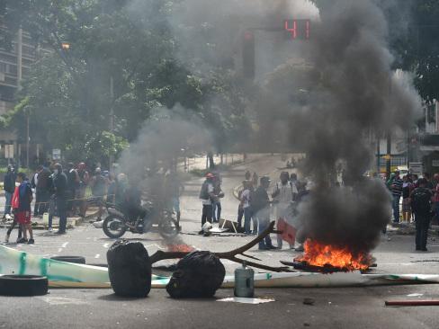 Venezuelans launch general strike to ramp up pressure on Maduro