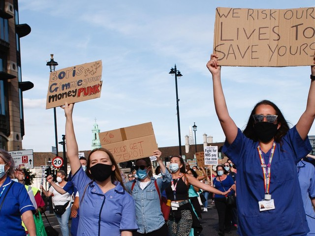 For all the unions' protests at 3% NHS pay rise, the award could have been worse