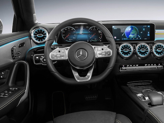 Check out the Interior of the New Mercedes-Benz A-Class