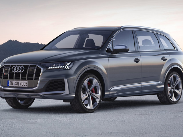 Audi SQ7 facelift revealed with 435hp V8 diesel engine