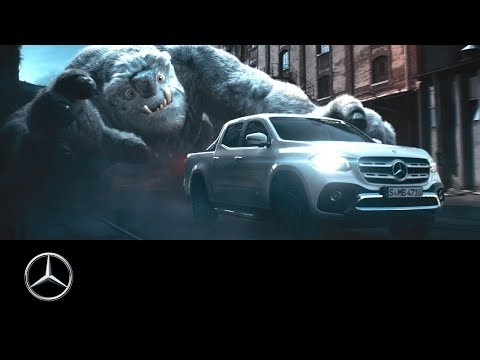 Sci-Fi Themed Car Commercials - Mercedes X-Class Pick-Up Was Inspired by Star Wars: The Last Jedi (TrendHunter.com)