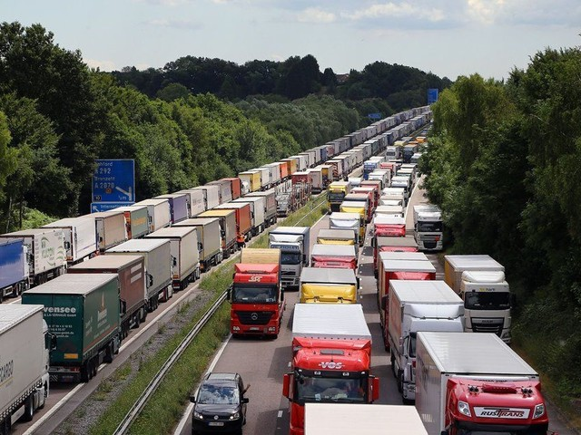 Government Axes Plan For Dover Lorry Park Despite Brexit Warnings Over Customs Delays