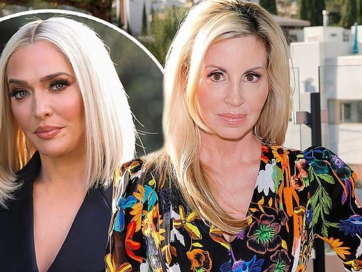 Camille Grammer claims she knew about Erika Jayne and Tom Girardi rumors