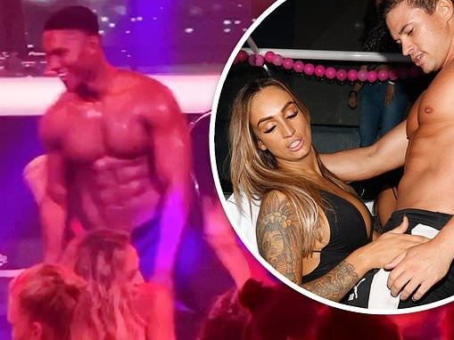 Married At First Sight: Hayley Vernon gets a lap dance in VERY saucy video