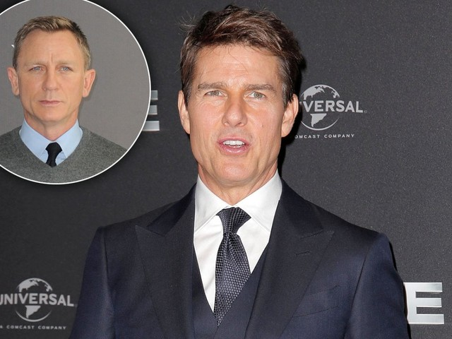 Danger Zone! Inside Tom Cruise's Competition With Daniel Craig
