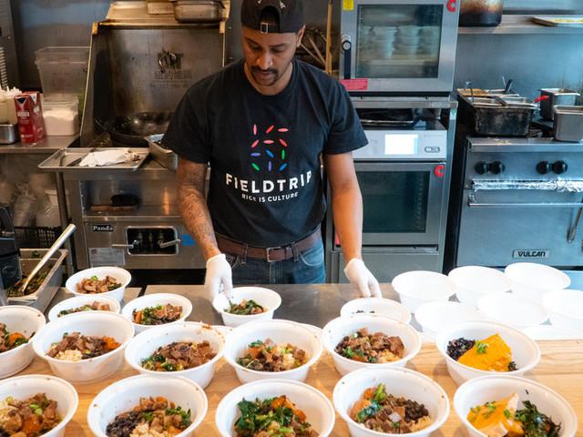 Restaurants Find Hope in Delivering Donated Meals to Hospitals