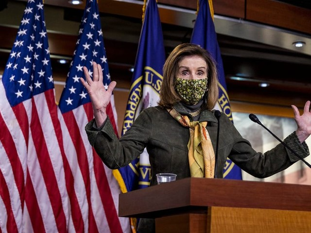 Pelosi baited Republicans by collecting positive news coverage about Biden's $1.9 trillion stimulus deal from their districts
