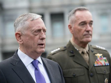 Trump's generals look to provide a steady hand