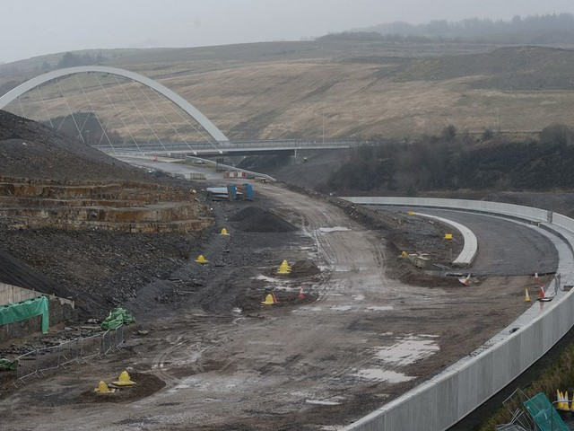 New 8km stretch of A465 Heads of the Valleys road is £100m over budget and three years late