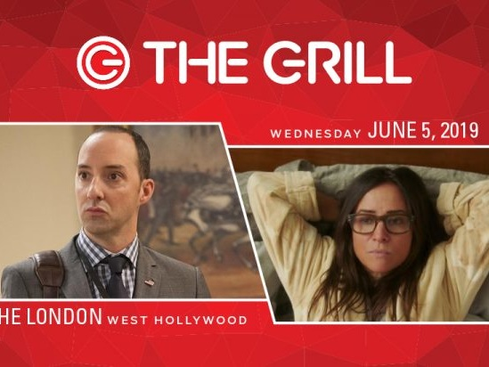 TheGrill Welcomes Tony Hale, Pamela Adlon for Spotlight on Comedy