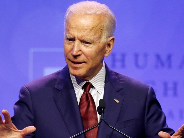 Joe Biden says white people 'can never fully understand' racism during visit to black church