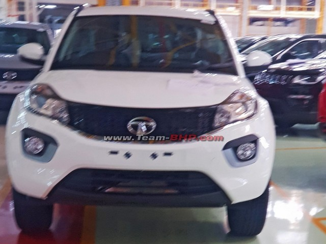 Tata Nexon Electric Spied At Plant