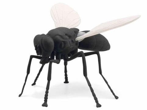 Toddler knocks over fly sculpture worth £45K