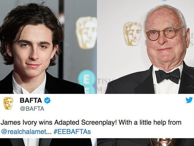 Timothée Chalamet showed us all how to be better people at the BAFTAs