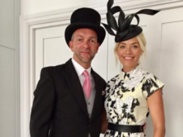 Royal Ascot 2017: Holly Willoughby Completes Chic Outfit With Heels From Topshop