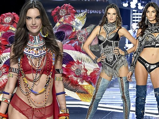 Alessandra Ambrosio sizzles at VS Show in Shanghai