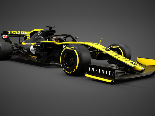 Renault F1 2019 car unveiled