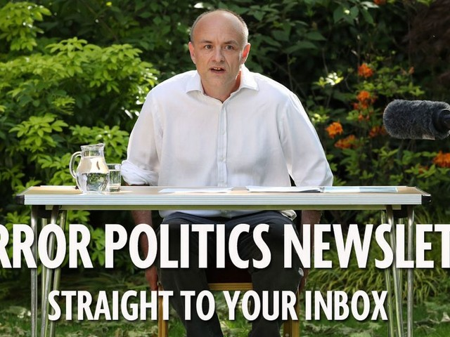 Don't miss the Mirror Politics newsletter - the e-mail to help navigate a crisis