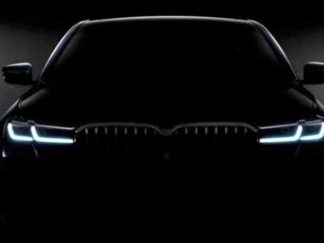 2021 BMW 5 Series facelift teased