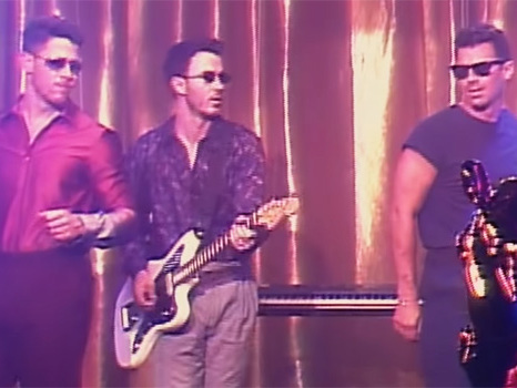The Jonas Brothers Throw Epic '80s-Inspired Dance Party In 'Only Human' Music Video — Watch