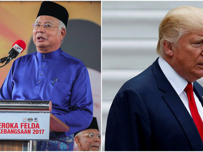 Trump invites Najib for White House meeting on Sept 12