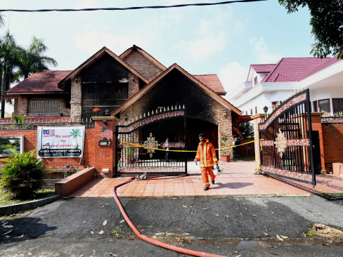 Kajang fire: Old folks home operating without a licence