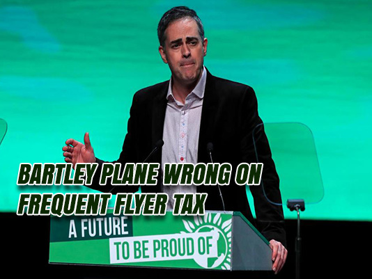 Greens' Frequent Flyer Tax Slippery Slope