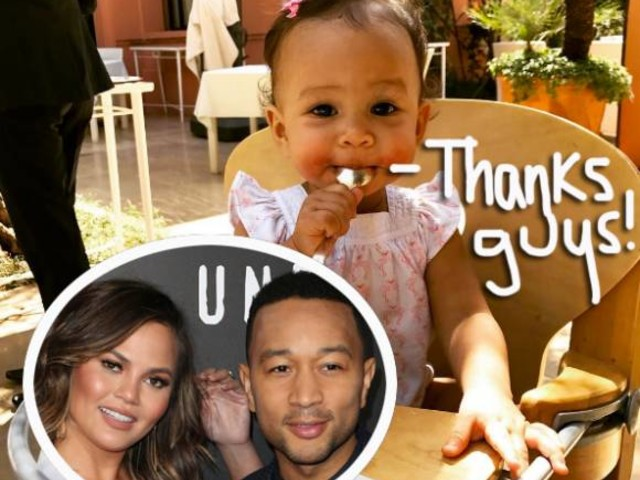 Chrissy Teigen & John Legend's Daughter Luna Turns One — Celebrate With All Her Cutest Moments!