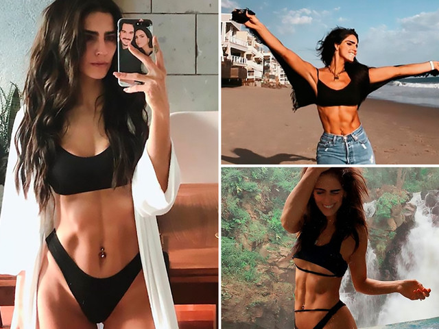 Super-toned actress Barbara de Regil, 32, who rocks the 'best abs in Mexico' reveals how to achieve the perfect six-pack