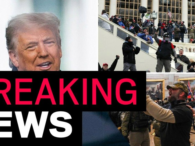Donald Trump vowed to join Capitol protest – then scuttled off and sent in National Guard