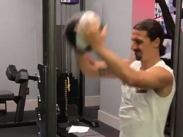 Zlatan Ibrahimovic gives fitness update ahead of possible Manchester United return