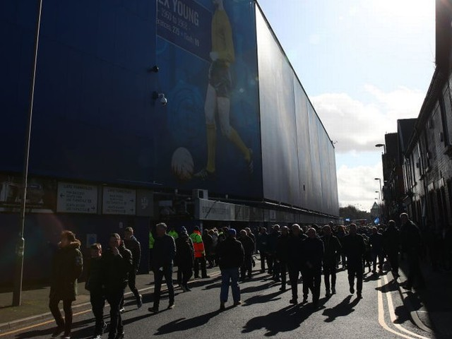 Everton ready for return of fans with Goodison ticket plan in place