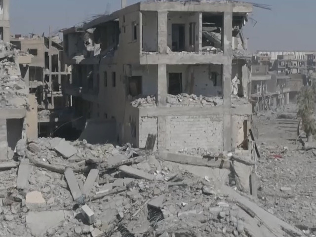 Raqqa Drone Footage Shows Horrific Devastation In The Syrian City After Isis Fighting