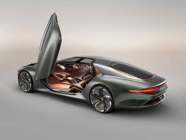 Bentley EXP 100 GT revealed as spectacular take on the grand tourer