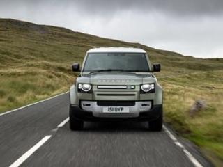 Jaguar Land Rover unveils plans for hydrogen fuel cell Defender
