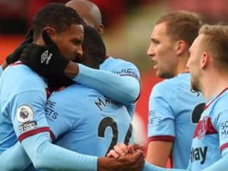 Sheffield Utd still winless after losing 1-0 to West Ham