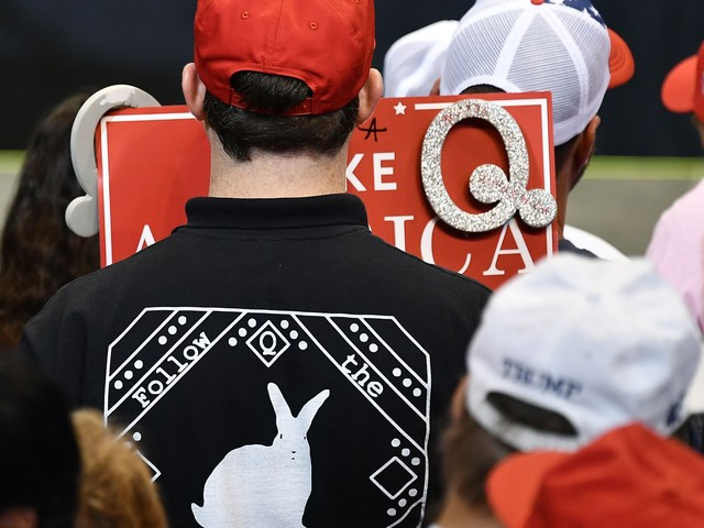 Instant Opinion: 'QAnon - the online cult that is a danger in the real world'