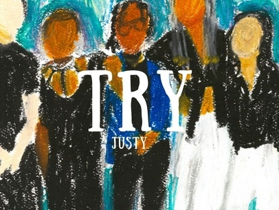Justy takes a philosophical approach to pain on 'Try'