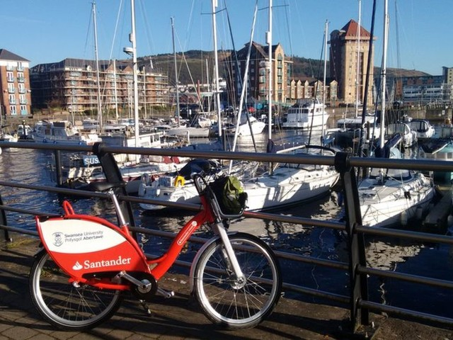 'Boris bikes' set for Swansea after university success