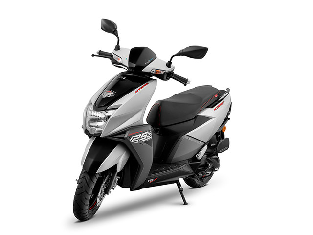 TVS launches Ntorq in Matte Silver to celebrate 'Scooter of the Year' awards