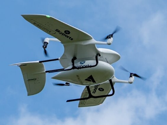 Unmanned drones to slash NHS delivery times to one-fifth of road 'n' rail transport