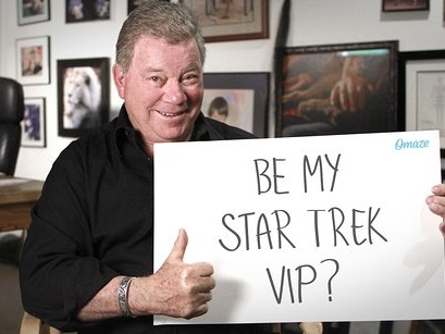 Boldly Go To The Star Trek Convention As William Shatner's VIP Guest