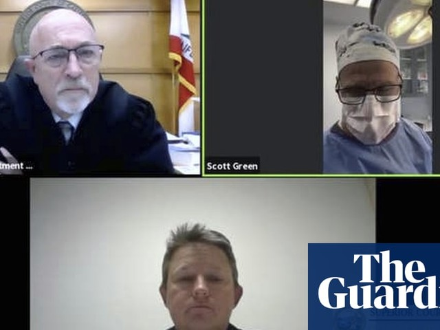 'I'm operating': doctor makes Zoom court appearance while in surgery