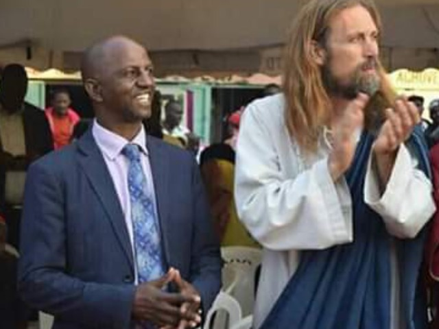 'Second coming of Christ' at church in Kenya