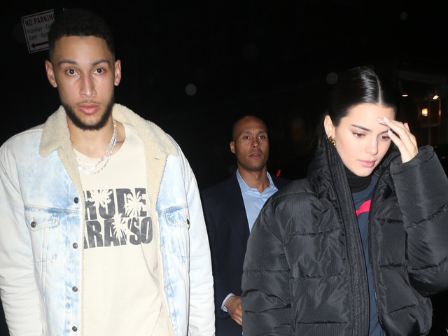 Kendall Jenner Joins Ben Simmons for a NYC Dinner Date