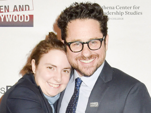 Lena Dunham Honors J.J. Abrams at Athena Film Festival